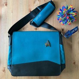 Star Trek The Next Generation Messenger Bag Blue